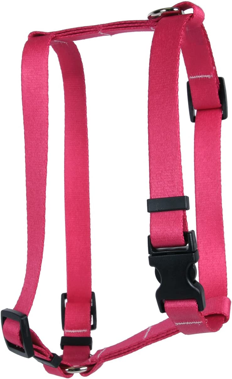 Yellow specialty shop Dog Design Magenta Ranking TOP12 Simple Harness Roman Solid Style H