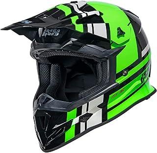 IXS 361 2.3 Motocross Helm Schwarz Matt/Grün M 57/58