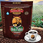 2LB Don Pablo Signature Blend - Medium-Dark Roast - Whole Bean Coffee - Low Acidity - 2 Pound (2 lb) Bag 9 Don Pablo's Special Blend of Colombia, Guatemala, and Brazil Medium to Full Bodied with a Very Smooth Cocoa Toned Finish & Low Acidity Medium-Dark Roast - Whole Bean Arabica Coffee - GMO Free