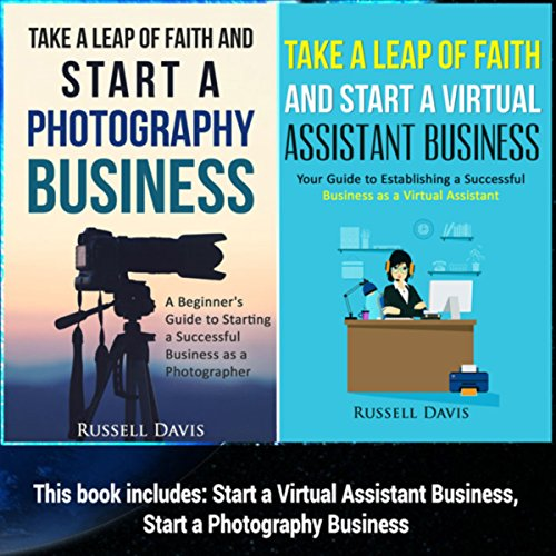 Start a Business: 2 Manuscripts audiobook cover art