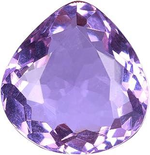 Small Oval Amethyst Natural Purple Cut Gemstone Loose Faceted Stone Bulk DIY Gem