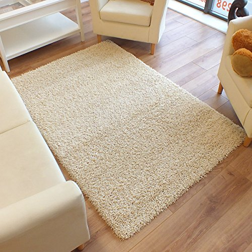 Hochflor Shaggy Teppich TWILIGHT 39001 6868 creme 160 x 230 cm