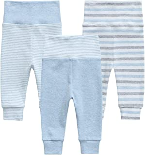 Owlivia Organic Baby Pant Legging Jogger for Infant, Baby Boy, Baby Girl, Toddler