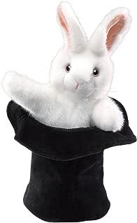 Folkmanis Rabbit in Hat Hand Puppet