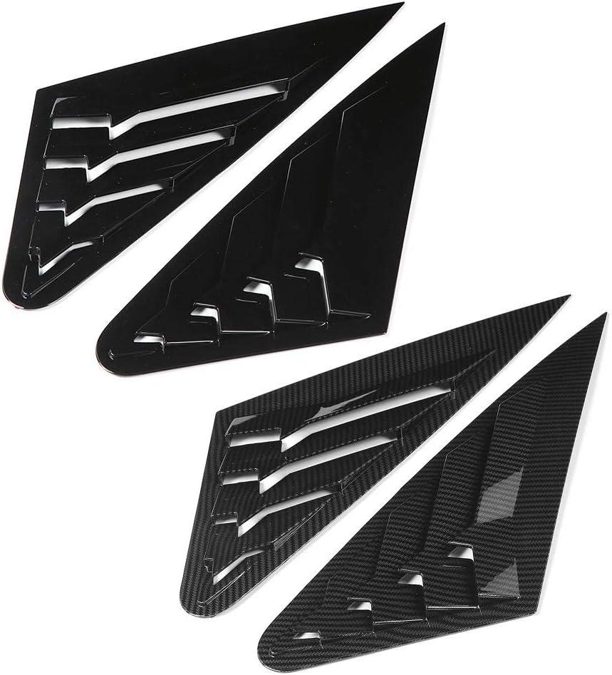 Sale Special Price KIMISS 2Pcs Side Vent Fashion Window Modification Trim Scoop Louver Car