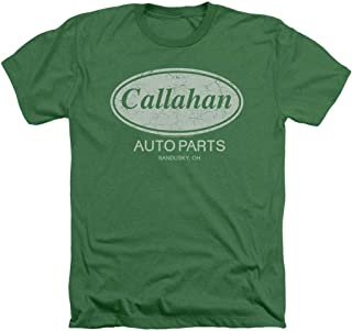 Tommy Boy Callahan Auto Parts Heather T Shirt & Stickers