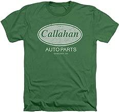 Popfunk Tommy Boy Callahan Auto Parts Heather T Shirt & Stickers