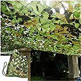 Red De Camuflaje del Ejército Malla De Camuflaje Net Camo Netting Verde Toldo De Terraza Reforzada Tela Oxford Tienda Acampar Jardín Al Aire Libre Caza Oculta Tiro Privacidad Protección Solar 6x8m