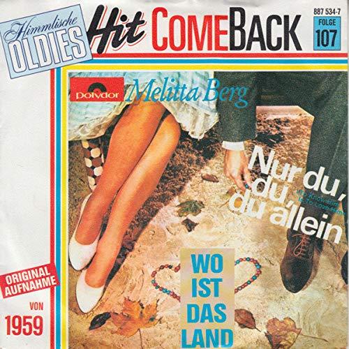 Nur Du, Du, Du Allein [Vinyl Single 7'']