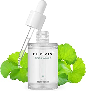 BE PLAIN Cicaful Ampoule (30ml / 1.01 fl oz) - Centella Asiatica Acne Spot Treatment Serum for Face