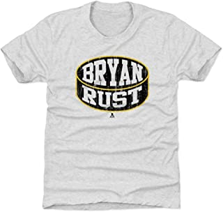 500 LEVEL Bryan Rust Pittsburgh Hockey Kids Shirt - Bryan Rust Puck