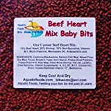 Aquatic Foods Inc. S&B Beef Heart Mix Baby Bits...