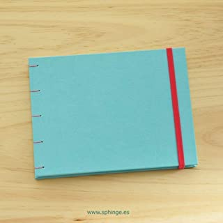 Cuaderno acuarela A5 personalizado con tu nombre, libreta acuarela a5 300 gr, para pintar, para dibujar, dibujo artístico, sketchbook, papel grueso, artesanal, hecho a mano