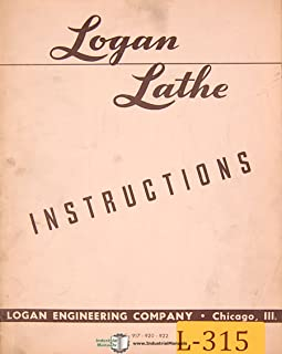 Logan 915, 917 920 & 922, Lathe Instructions Manual (49)