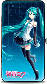 Buckle-Down Hinge Wallet - Hatsune Miku