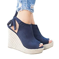 2a0f845b06950a Summer Women s Classic Buckle Design Fashion Wedge Sandals - Casual ...