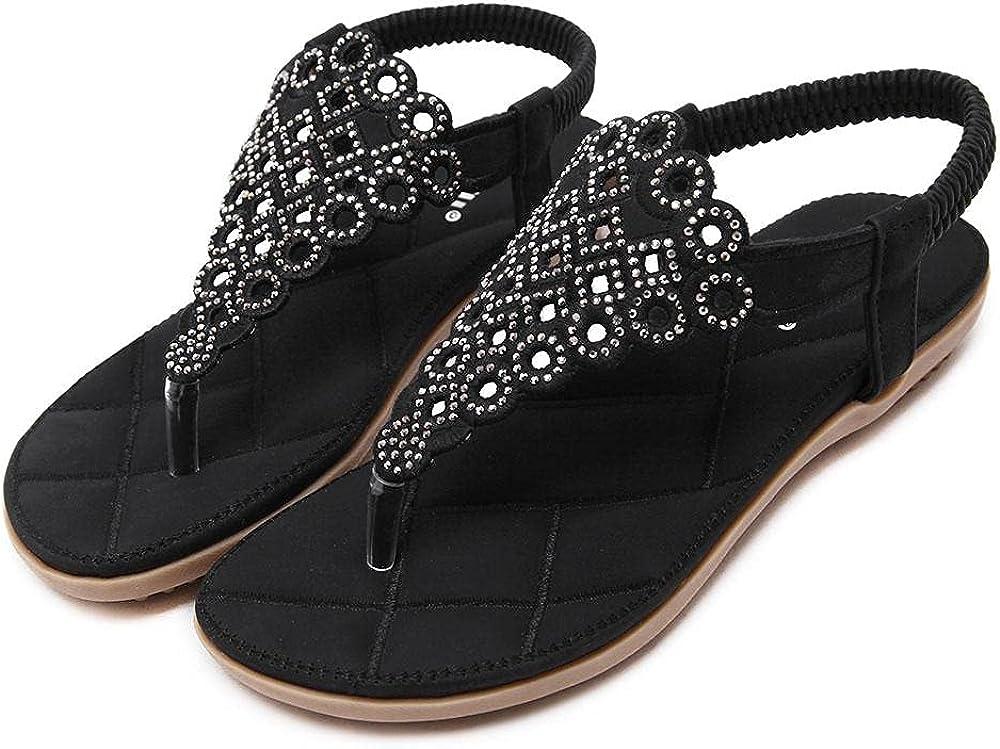 Chunhe Women's Summer Flip Flop Sandals Slippers Open Toe Slides Shoes for Indoor Outdoor