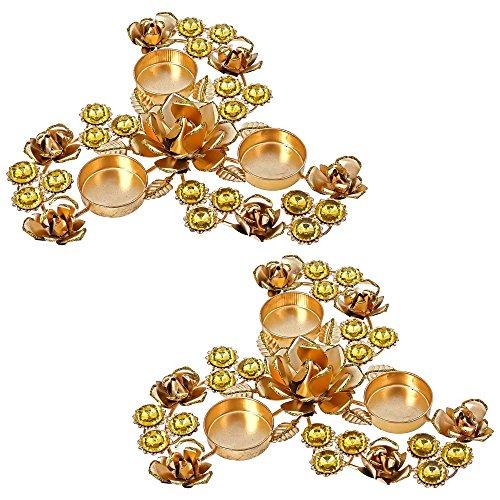 La Communication 2 – La décoration de la maison Décorations de Noël Bougie chauffe-plat support pour arrangements floraux