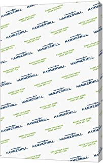 Hammermill Paper, Premium Color Copy Cover Cardstock 8.5 x 11 Paper, Letter Size, 100lb Paper, 100 Bright, 1 Pack / 250 Sheets, (120024R) Heavy Paper, Card Stock White