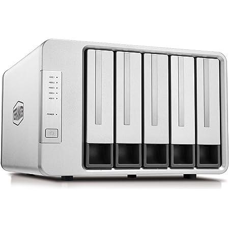 TerraMaster D5-300C 5ベイHDDケースRAID 0/1/Single Type C USB3.0(5Gbps) RAIDストレージ