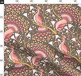 Valentinskarte, Pfau, Rosa, Blassrosa, Herzen, Vögel,
