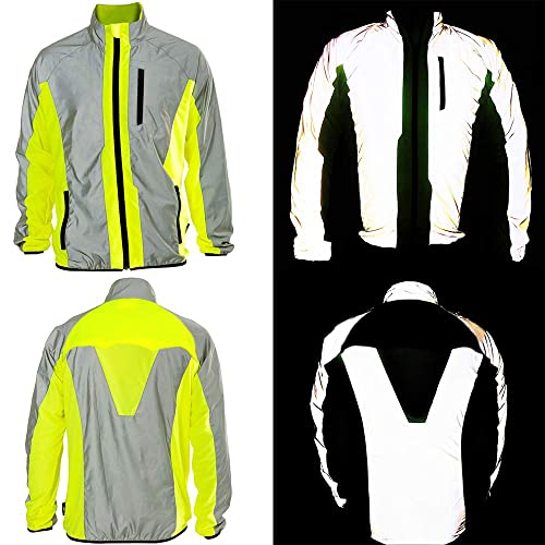 BTR Hi Vis Reflective Jacket Ideal For Cycling b32c2bcfe