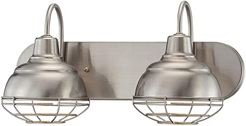 2021 Millennium 5422-SN Two high quality Light Vanity, Pwt, Nckl, B/S, high quality Slvr outlet online sale