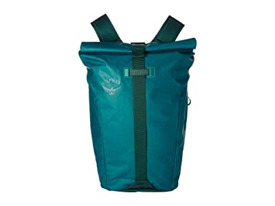 Osprey Transporter Roll Top Pack (Westwind Teal) Backpack Bags