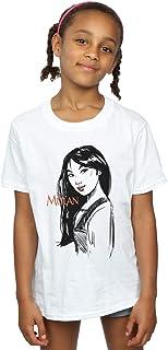 Disney Mädchen Mulan Sketch T-Shirt