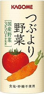 カゴメ つぶより野菜 野菜ジュース1日分の野菜350g分含有砂糖・食塩・香料不使用 30本