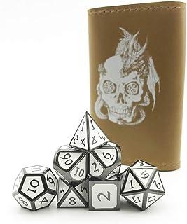 家で人気のあるダンジョンズ&ドラゴンズのトゥルーウォンメタルRPGダイス..ランキングは何ですか