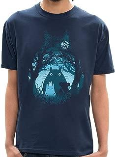 Camiseta Totoro Silhueta - Masculina