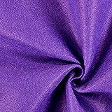 Fabulous Fabrics Filzstoff lila, 1 mm dick, 90 cm breit –