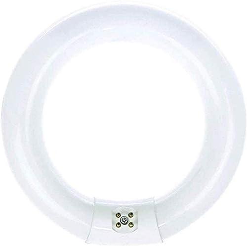 Bulbmaster FC8T9/WW 22 Watts 8 Inch Round T9 Fluorescent Circular Light Bulb, Warm White 3000K, FC8T9 980 Lumens G10Q...