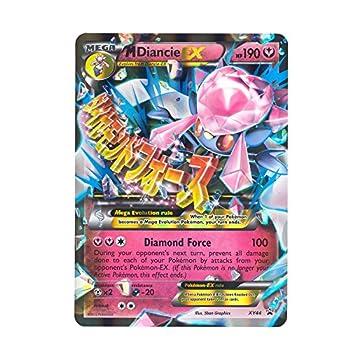 Pokemon - Mega-Diancie-EX  XY44  - Pokemon Oversized Promos - Holo