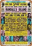 KODY HYDE Metall Poster - New York Jazz Festival - Vintage