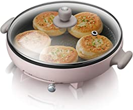YUMEIGE Elektrische bakvorm Electric Pancake Box, Pancake Pan, Pancake Pan, huishoudelijke verdieping en uitbreiding braad...