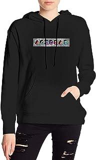 Agents Of Oblivion Women`S Casual Long Sleeve Hoodie Pullover Drawstring Sweatshirt