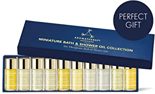 Aromatherapy Associates Discovery Wellbeing Miniature Bath & Shower Oil Gift Collection of 10, 3ml therapeutic, hand-selec...