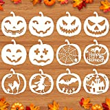 Mocoosy 12 Pcs 8 Inch Halloween Stencils,...