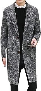 Best mens long tweed overcoat Reviews