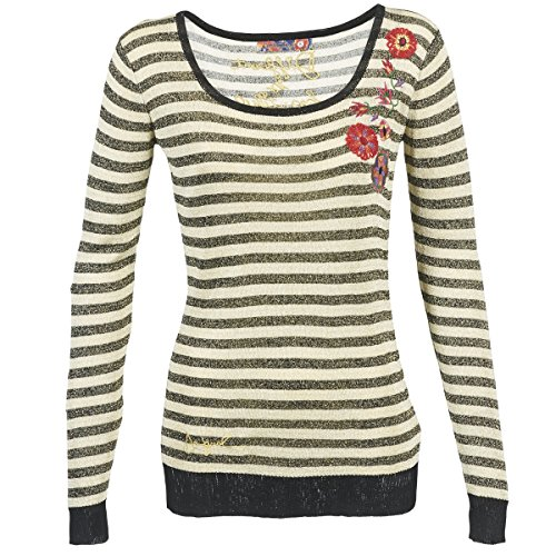 DESIGUAL - Damen langarm jersey true l schwarz