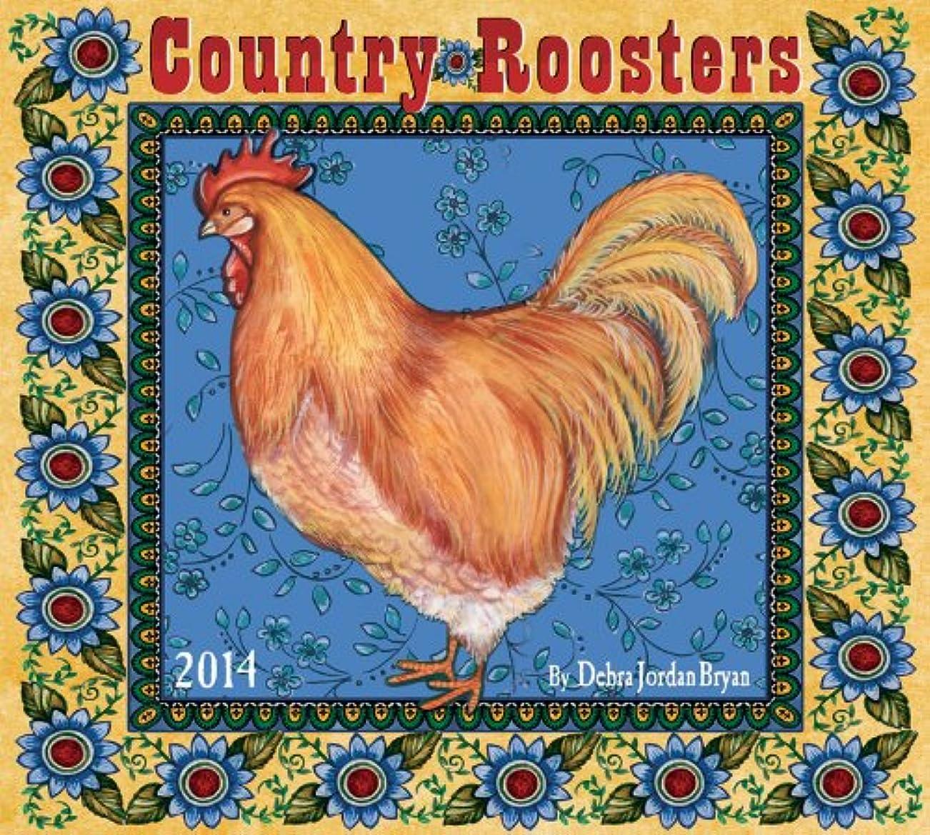 厳しい寮感じCountry Roosters 2014 Calendar