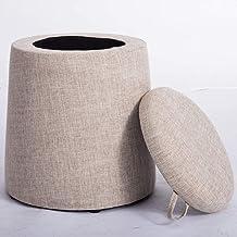 HYLX Praktische kruk voor eenvoudige mode voor stof opslag bank kleine kruk voor schoenen Bench kussen Piedi kruk ronde mu...