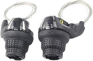 NiceCore vélo levier de vitesses 7/21 Vitesse Pouce vitesse Manettes Revoshift Levier avec Inner Maj Câbles 1 paire pour V...