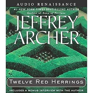 Twelve Red Herrings audiobook cover art