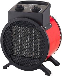 Mauk 1660 - Calefactor, 3000 W, color negro y rojo