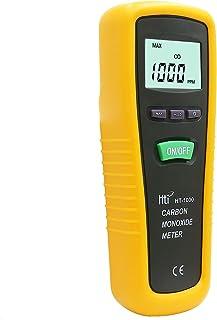 Medidor de monóxido de carbono, portátil, de alta precisión, medidor de gas CO, con sonda, rango de medición 0-1000 ppm, Hti-Xintai