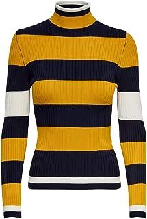 Only Onlkarol L/S Rollneck Pullover Knt Noos Camiseta Cuello Alto para Mujer