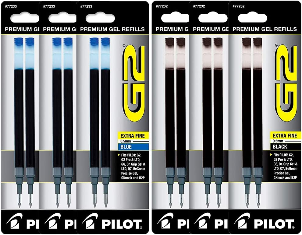 Pen Refills Popular products Set - Rollerball Ink Fine Poi Max 43% OFF Gel Extra
